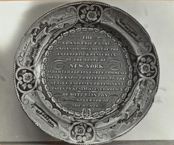 Memorial Plate - Dewitt Clinton