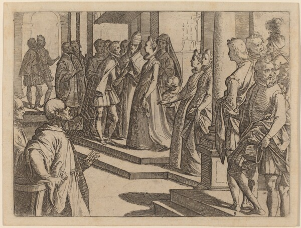 The Betrothal of Margaret of Austria to Philip III, King of Spain
