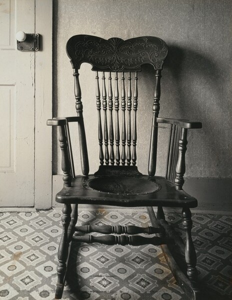 Chair and Tiled Floor