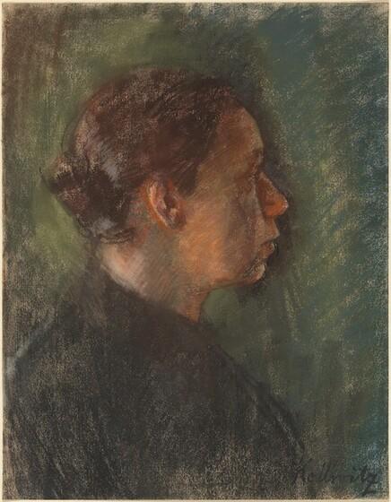 Käthe Kollwitz, Self-Portrait as a Young Woman, c. 1900