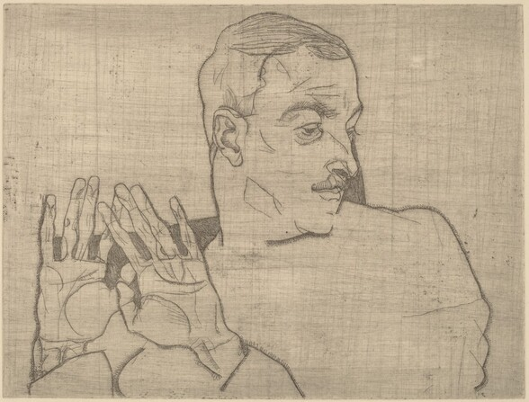 Portrait of Arthur Roessler