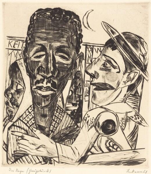 The Negro (Der Neger)