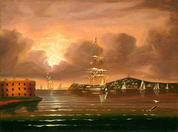 Threatening Sky, Bay of New York
