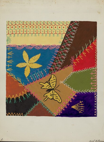 Crazy Quilt (Section)