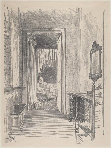 Hallway to Bed Room, Stenton