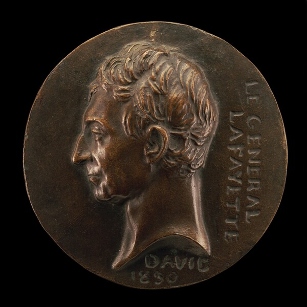 Marie-Joseph-Paul-Yves-Roch-Gilbert du Motier, 1757-1834,  Marquis de Lafayette, General and Statesman