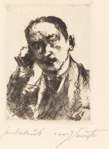 Bildnis K.S. (Portrait of K.S.)