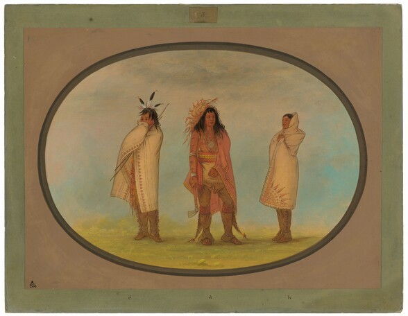 Three Iroquois Indians