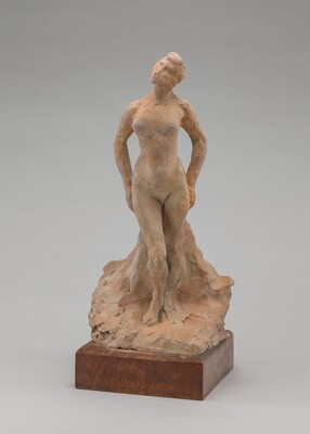 Auguste Rodin, Statuette of a Woman, early 1880searly 1880s
