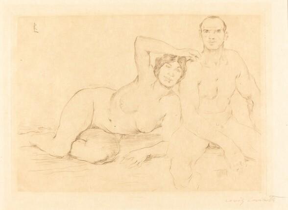 Zwei Menschen (Two Nudes)
