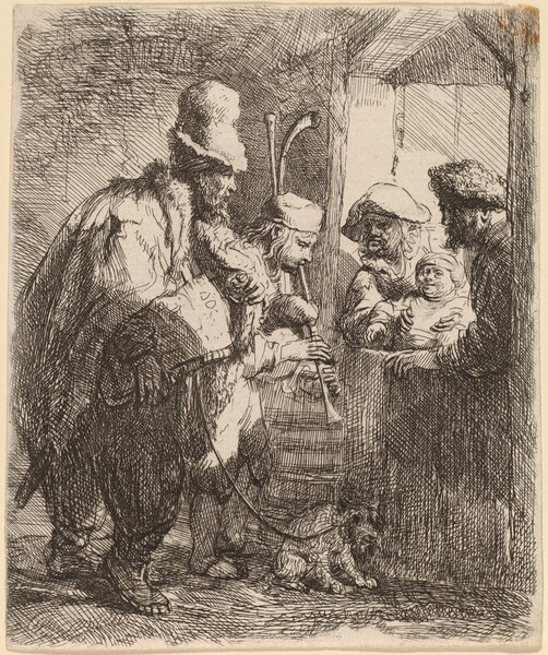 The Strolling Musicians