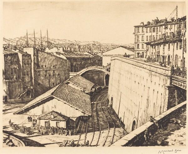 Railway Sheds, Marseilles