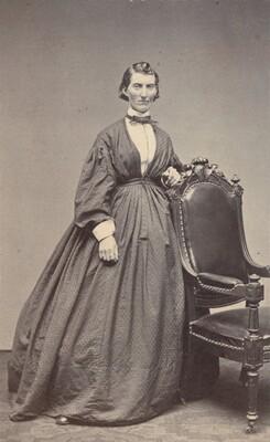Samuel Masury, Frances Clayton, c. 1865