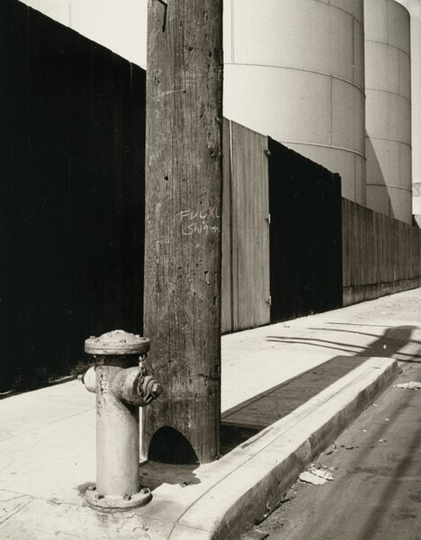 Hydrant and Gas Tanks, Los Angeles, California