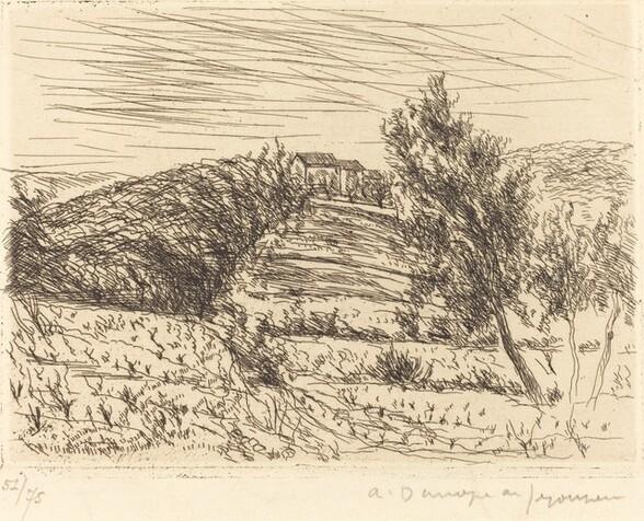 The Hill of Sainte-Anne (La Colline de Sainte-Anne)
