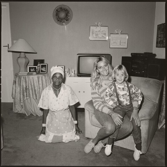 Mother, Daughter and Maid, Johannesburg, South Africa