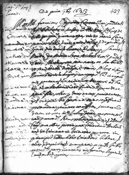 ASR, TNC, uff. 15, 1623, pt. 3, vol. 97, fol. 423r