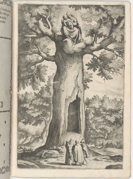 Apparition of the Virgin in the Beech Tree (Faggio dell
