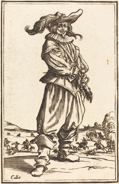 Soldier with Feathered Cap