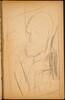 Männliche Bildnisskizze (Male Portrait Sketch) [p. 45]