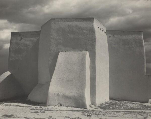 Ranchos de Taos Church, New Mexico [recto]