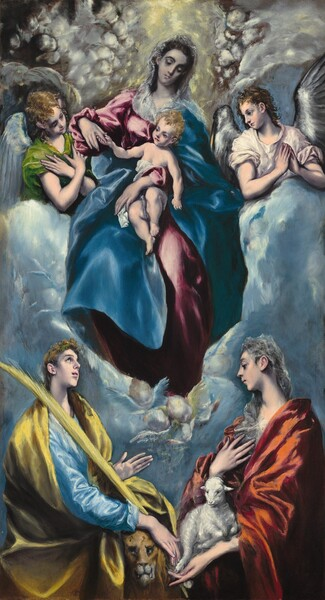 Madonna and Child with Saint Martina and Saint Agnes