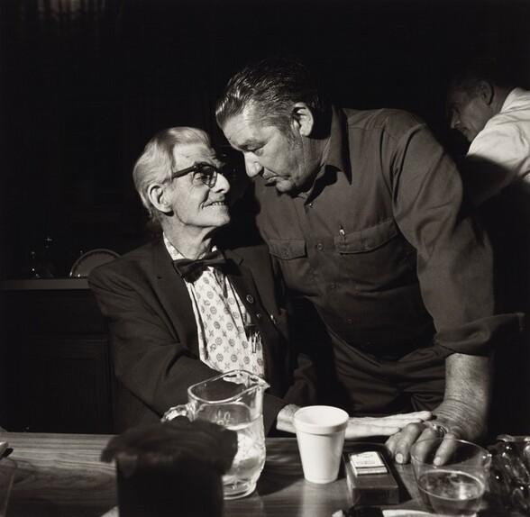 John Sabatine and Father-in-Law, Martins Creek, Pennsylvania