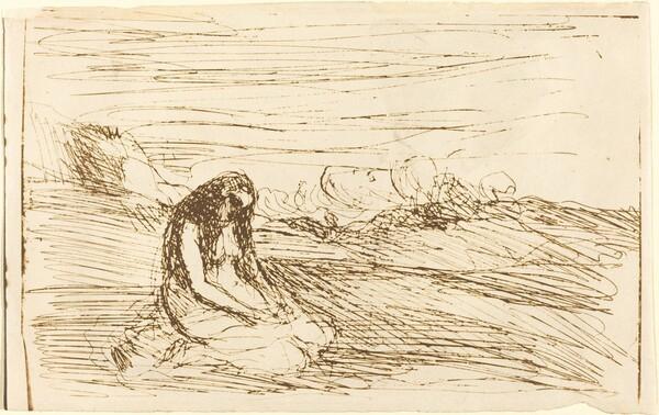 Mary Magdalene in Meditation (Madeleine en meditation)