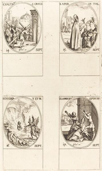 Exaltation of the Holy Cross; St. Aper; St. Euphemia; St. Lambert