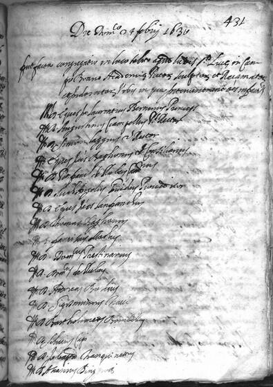 ASR, TNC, uff. 15, 1630, pt. 1, vol. 123, fol. 431r