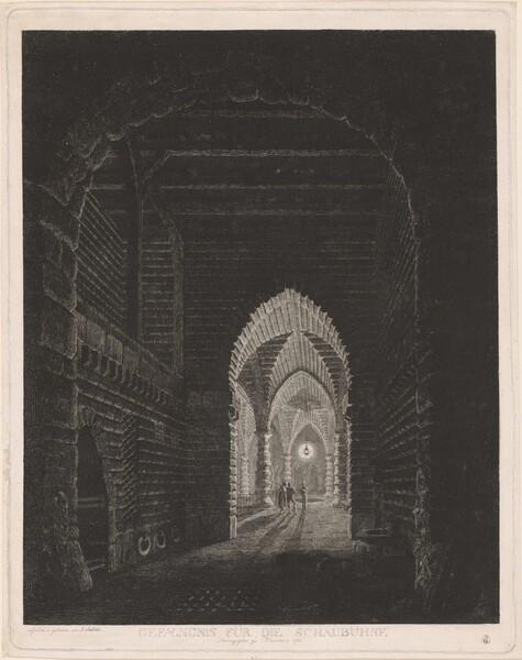 Gefængnis für die Schaubühne (Scenographic Design for a Prison)