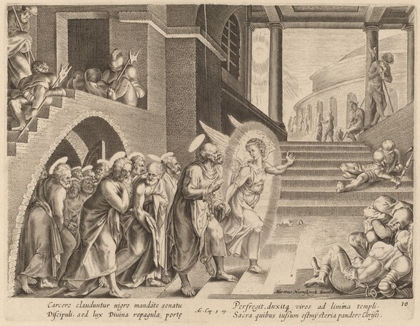 The Apostles Delivered from Prison by an Angel