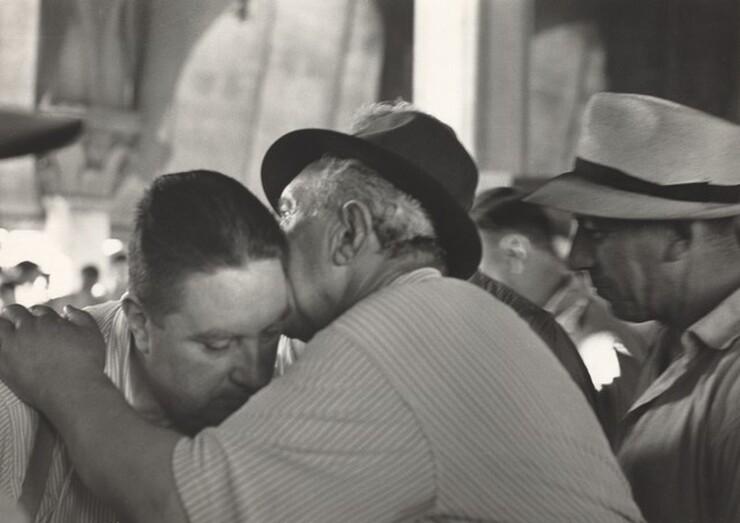 David Seymour (Chim), Venice Fish Market at the Rialto, 1950