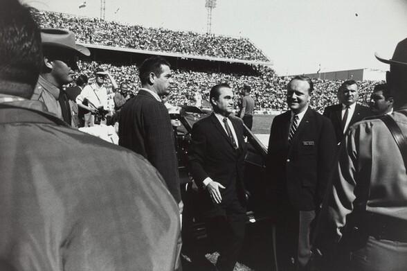 George Wallace, Cotton Bowl, Dallas