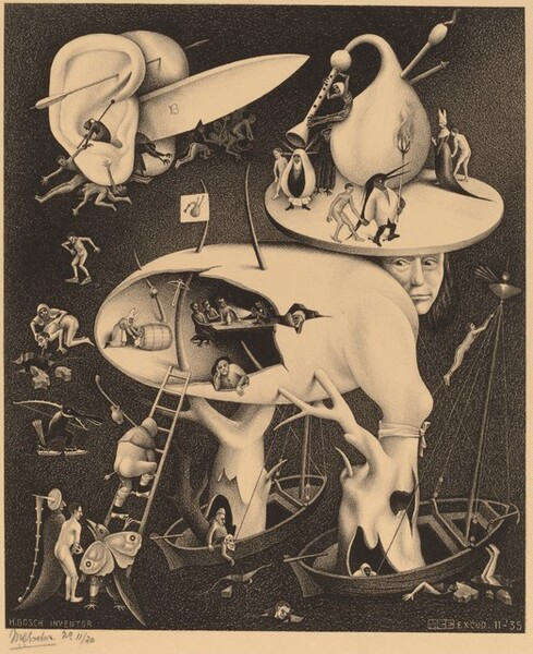 Hell, copy after Hieronymus Bosch