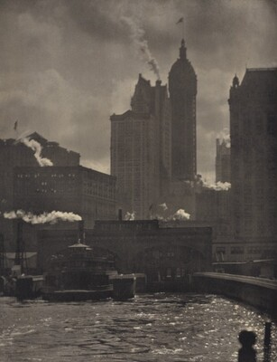 Alfred Stieglitz, The City of Ambitions, 1910, printed in or before 1913