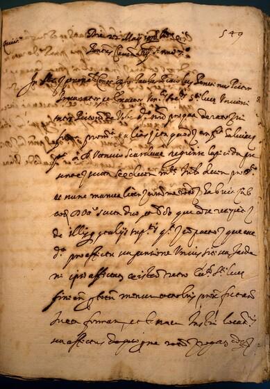 ASR, TNC, uff. 11, 1598, pt. 2, vol. 38, fol. 549r