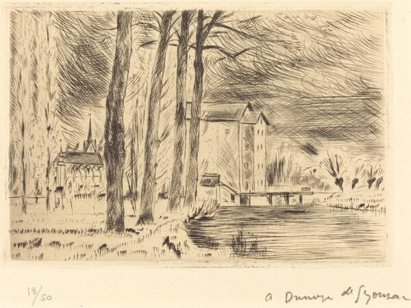 Mill and Chapel (Le Moulin et la chapelle)