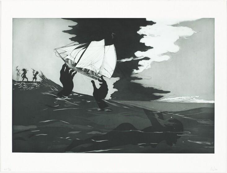 Kara Walker, Greg Burnet, Burnet Editions Master Printers, Sikkema Jenkins & Co., no world, 2010