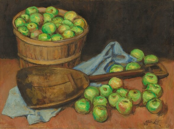 Green Apples and Scoop