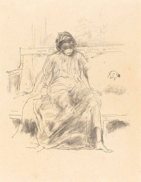 The Draped Figure, Seated