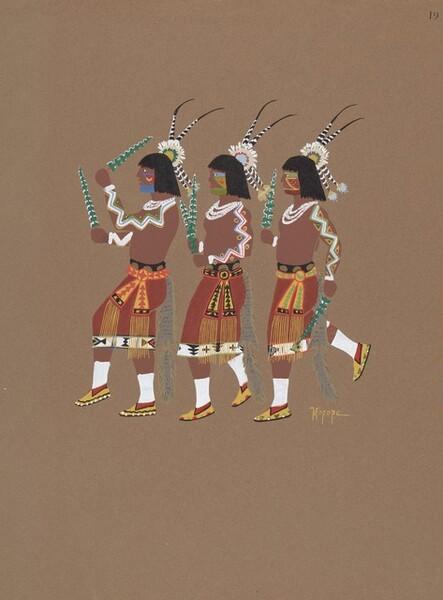 #19 (Three Dancers)