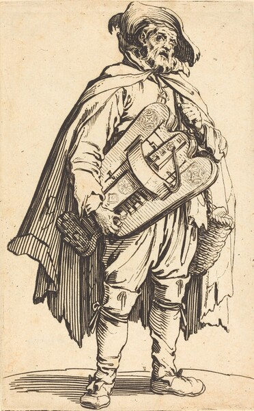 The Hurdy-Gurdy Player