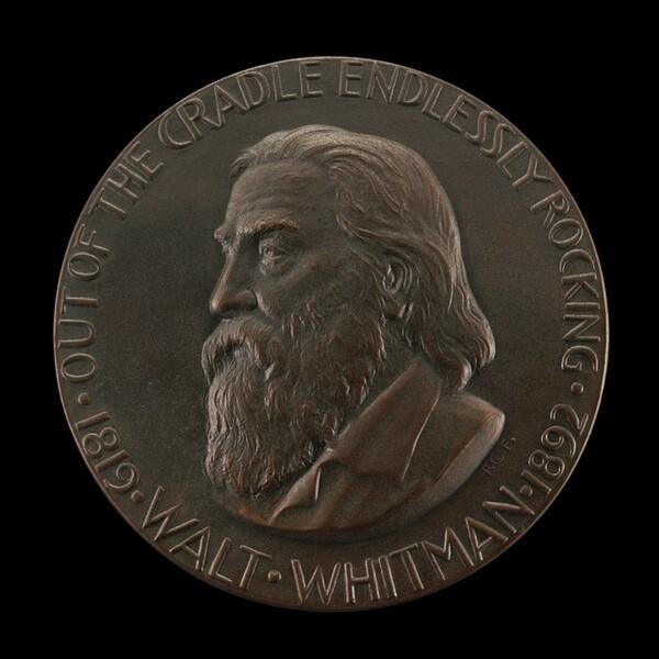 Walt Whitman [obverse]