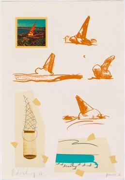 Claes Oldenburg, Untitled (Ice Cream Cones), 1968