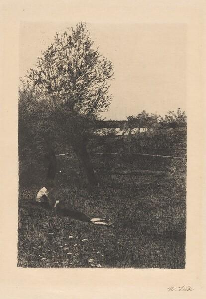 Landscape with Resting Children (La Dolce far niente)
