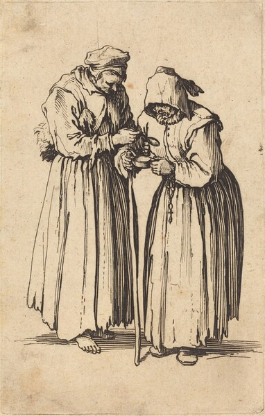 Two Beggar Women