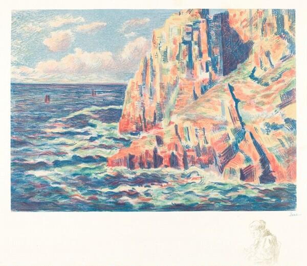 The Sea at Camaret (La mer a Camaret)