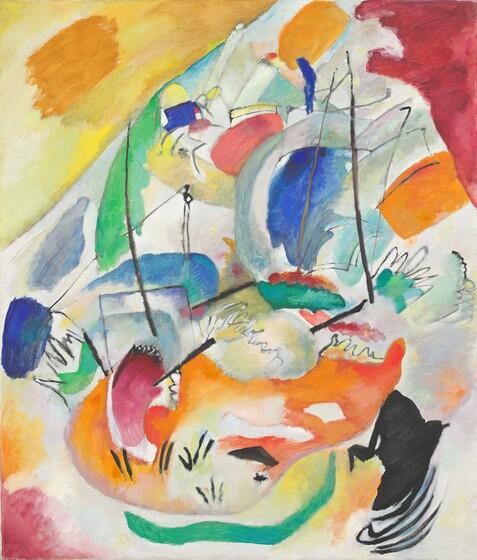 Wassily Kandinsky, Improvisation 31 (Sea Battle), 1913