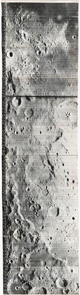 Lunar Orbiter, High Resolution, LOIV H-084